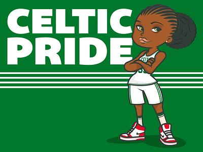 Celtic Pride mascot character mascot cartoon vectorillustration bostonstrong celticpride boston celtics bostonceltics character design illustrator characterdesign adobeillustrator vector illustration