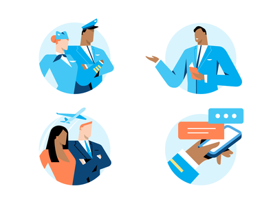 CrewBase icons aircraft iphone planet icons branding characterdesign character design illustration
