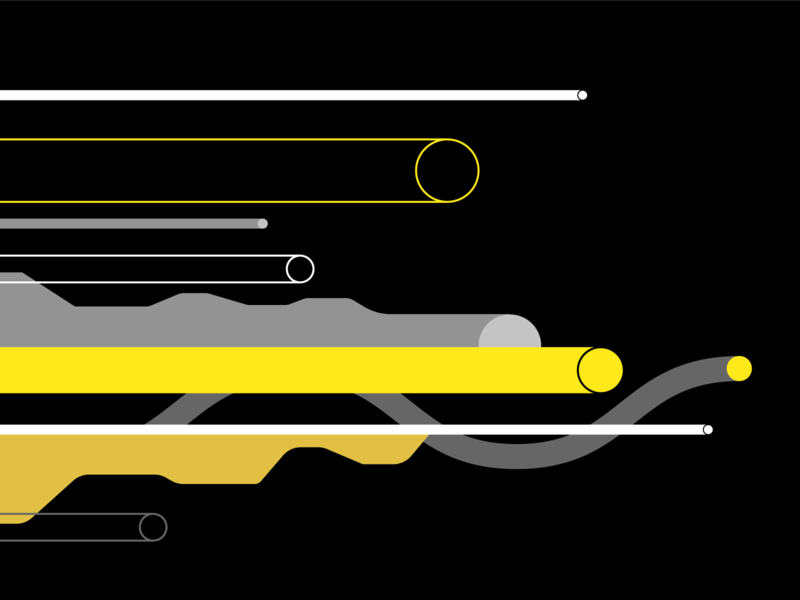Lines escape abstract move lines illustration design