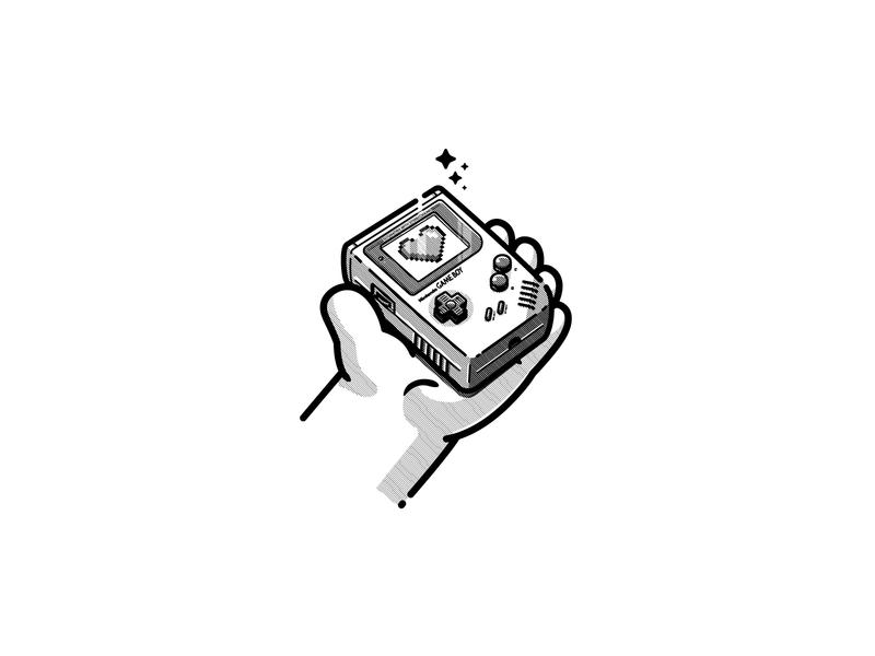 Game Boy gameboy characterdesign adobe illustrator ilustration vector