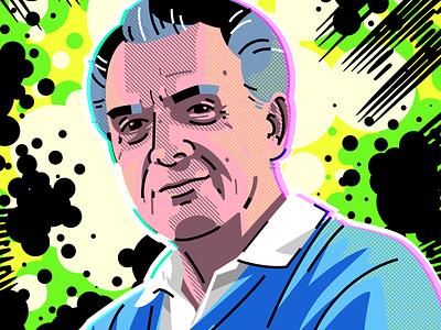 Jack Kirby marvelcomics comics kirby jackkirby illustration adobe illustrator vector