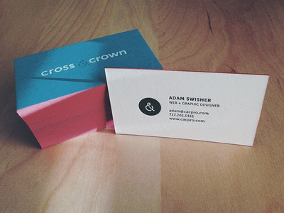 New Business Cards  cacpro business cards print letterpress mamas sauce