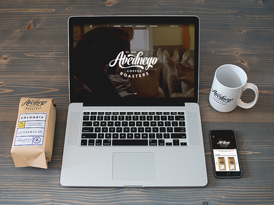 Abednego Coffee Roasters non profit community roast coffee responsive packaging website identity branding logo