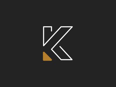 K. identity mark logo