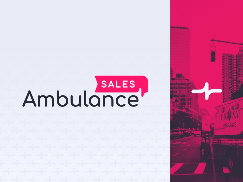 Ambulance Sales! sales identity branding logo