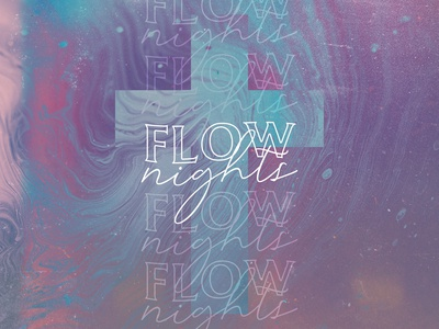 Flow church branding worship church