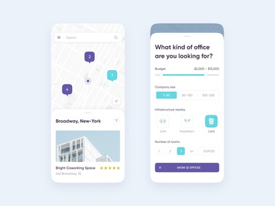 Office Real Estate iOS App