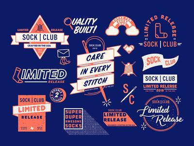 Sock Club Logos