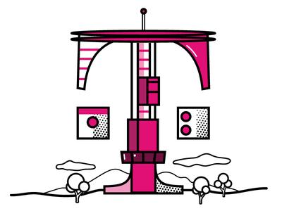 T Mobile logo concept design illustration logo logo design logo mark