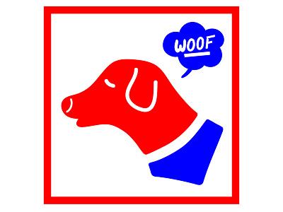 Dog Product Logo branding pets woof dog logo dog
