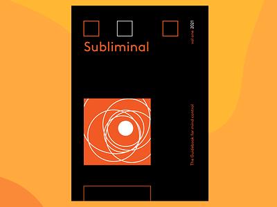 Psychology Journal cover grid system typography psychology journal cover design
