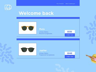 Retail homepage ecommerce shopping conversion webpage homepage retail ui