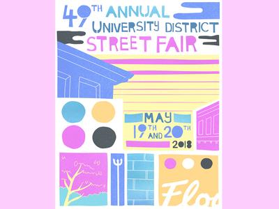 Street Fair poster design