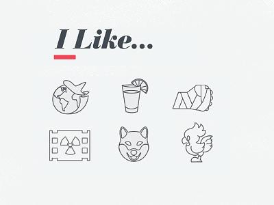 I like vector illustrator film apocalypse mma chocobo shiba travel iconography icon