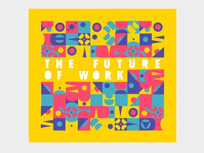 Pattern typography design vector illustrator branding