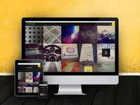 Responsive Instagram Photo Section
