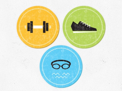 Workout Icons workout icons runner running swimmer swimming weightlifting cardio weight fitness sports