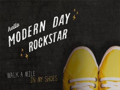 Hello modern day rockstar