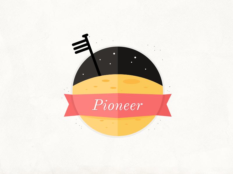 Lts badge pioneer
