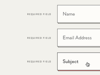 UI Contact Form