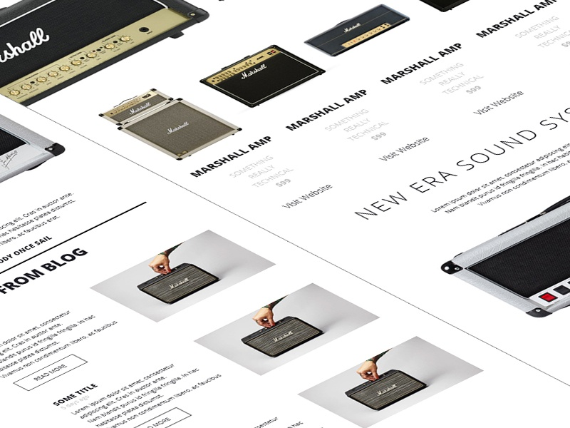 9 ecommerce electronics dribbble