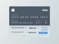 #002 - Credit Card - Daily UI