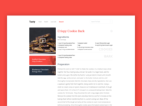 Tasty Recipe Concept