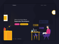 Workapp Landing Page
