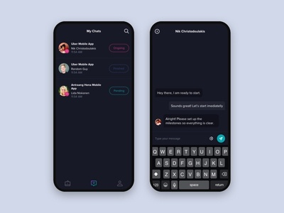 Messaging - Workapp