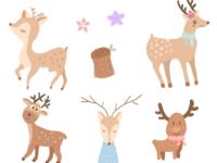 今日份的鹿