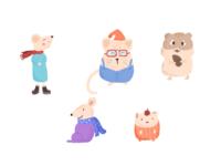 今日份的老鼠