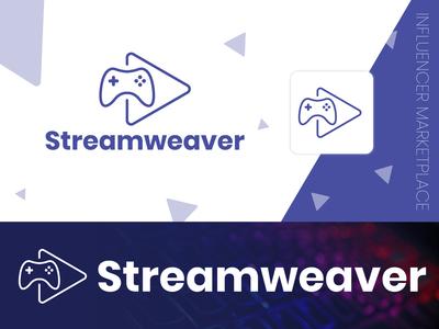 Streamweaver | Video Game Logo & Branding