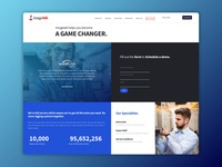 Schedule A Demo Landing Page