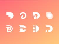 D Logo Icon Concepts