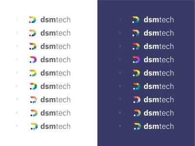 D Logo Color Choices