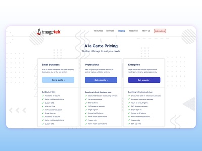 Pricing Page - Pricing Plans