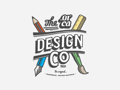 Orca design badge