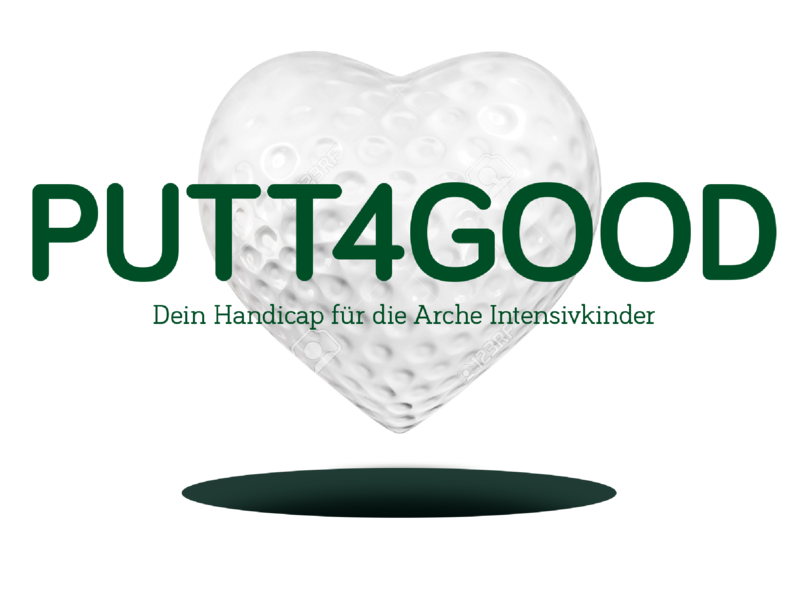 put4good invitation charity good golf love idea logo design icon minimal