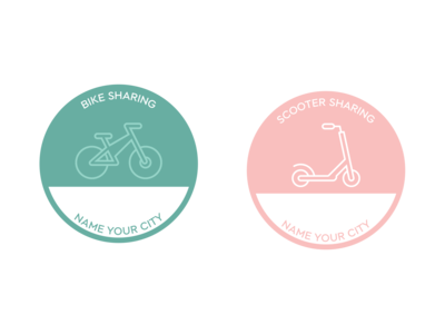 E-Bike and E-Scooter Icon