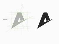 """A"" Logo Design"