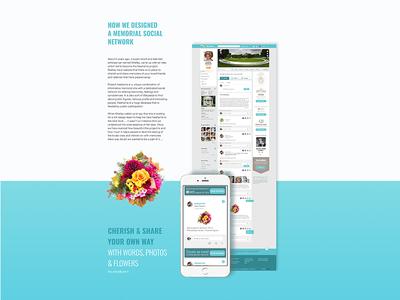 Memorial social network design