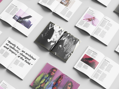 Zaha Hadid X Hip Hop // Zine Project typogaphy architecture hiphop analog indesign editorial design zine
