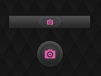 Camera camera ios icon photo photograph button pink capture click