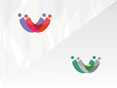 Relationship - Logo logo brand relationship cool love orange green clean
