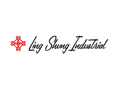 Logo - Ling Shung Industrial logo branding symbol typo identity clean vector illustrator