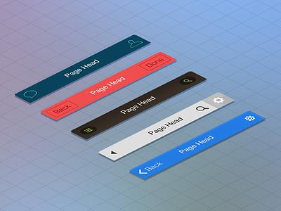 Ui Pack For iOS7 ui pack ux flat app ios7 kit clean navigation ios iphone ipad