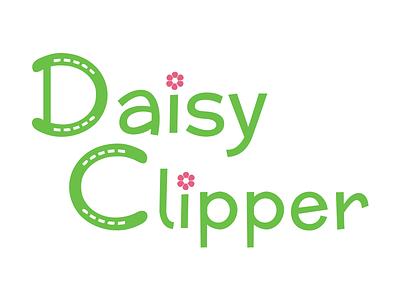 Branding: Daisy Clipper logo branding identity kids clothes logotype mark symbol print