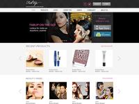 Layout Fashion Portal