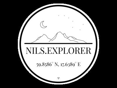 nils.explorer sticker