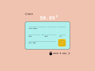 Credit Card Checkout 002
